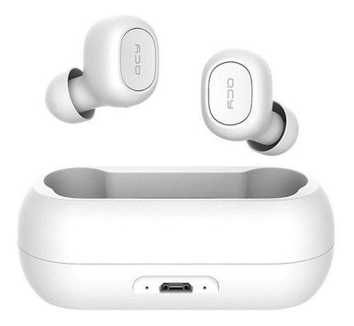 Fone de Ouvido Bluetooth sem fio  T1C Qcy Branco Original
