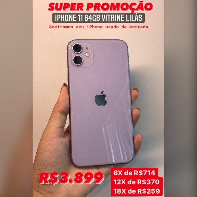 IPHONE 11 LILÁS VITRINE 64GB COM GARANTIA