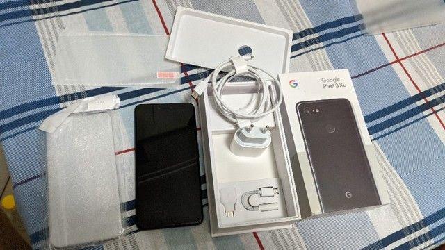 Google pixel 3xl google pixel 3 xl 64gb 64 gb just black perfeito - Foto 3