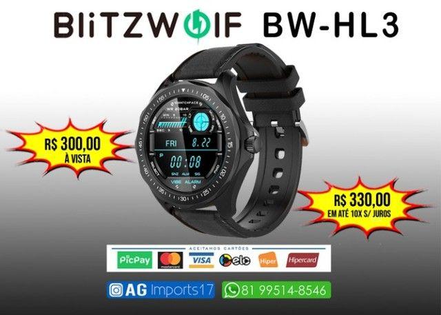 Blitzwolf BW-HL3 - Smartwatch Versão Global - Foto 3
