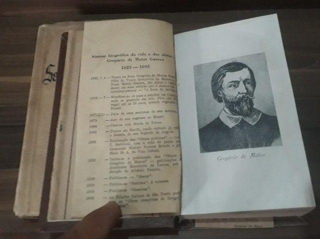 Gregório de Matos e Santa  Rita durão ( raridades do ano de 1945) - Foto 6