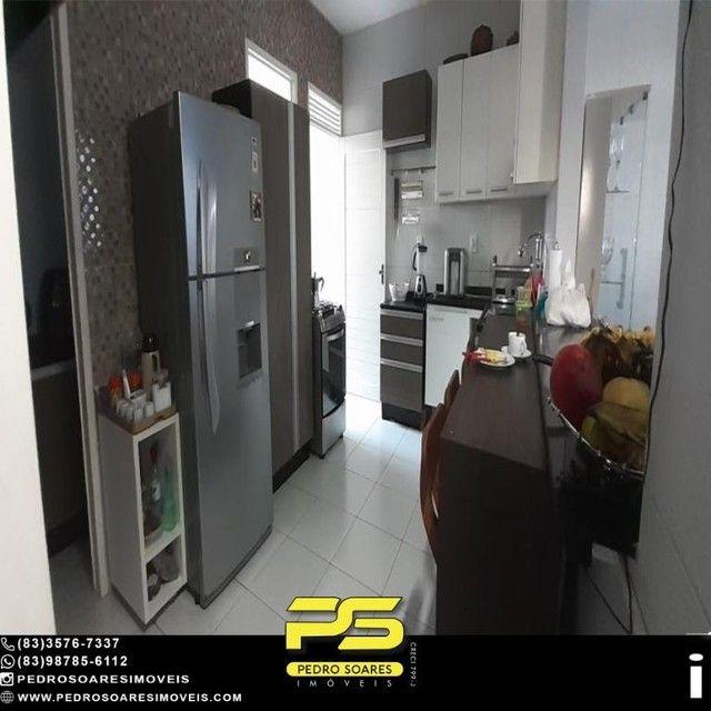 Casa com 3 dormitórios à venda, 136 m² por R$ 430.000 - Jardim Cidade Universitária - João - Foto 8