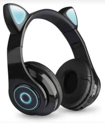 Fone de Gatinho Bluetooth -  Seu som com mais estilo! - Foto 3