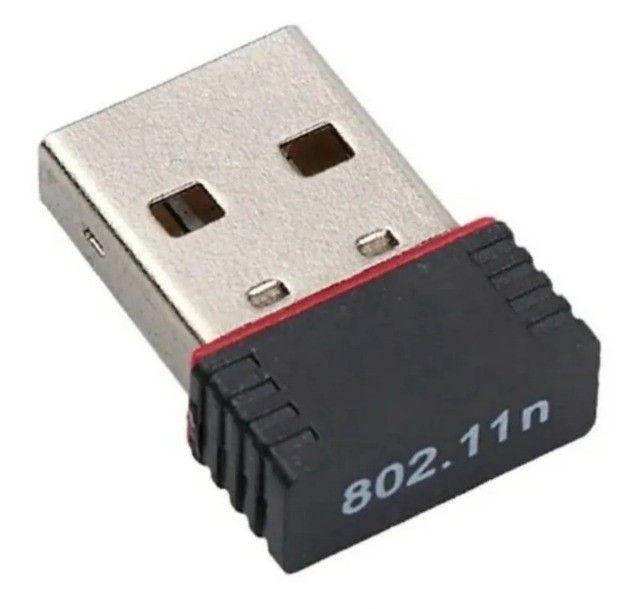 Mini Adaptador Wireless Usb 2.4ghz Wifi 950mbps Nano Sem Fio - Foto 3