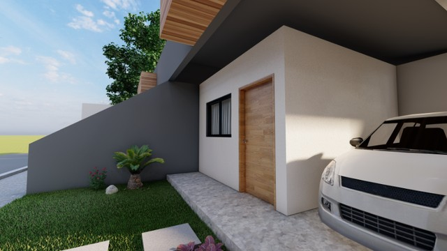 Casa Geminada com Garagem 94,6m² - Foto 2