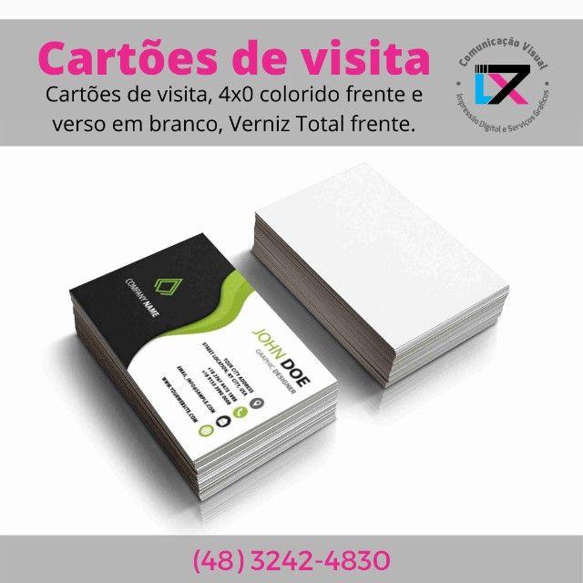 Cartões de visita!