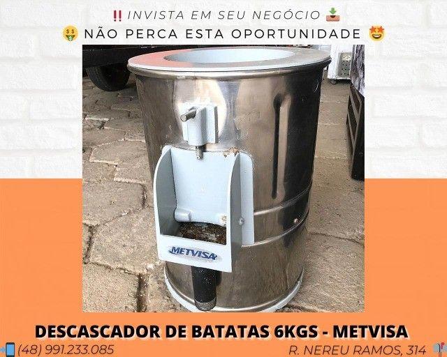 Descascador de Batatas 6kgs - Metvisa   Matheus