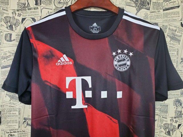 Camisa Bayern de Munique Uniforme III Temporada 2020 2021 - Foto 2