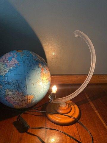Globo mapa mundi iluminado - Foto 4