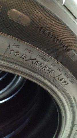 Jogo de pneus Goodyear Assurance 195-60-16 - Foto 4