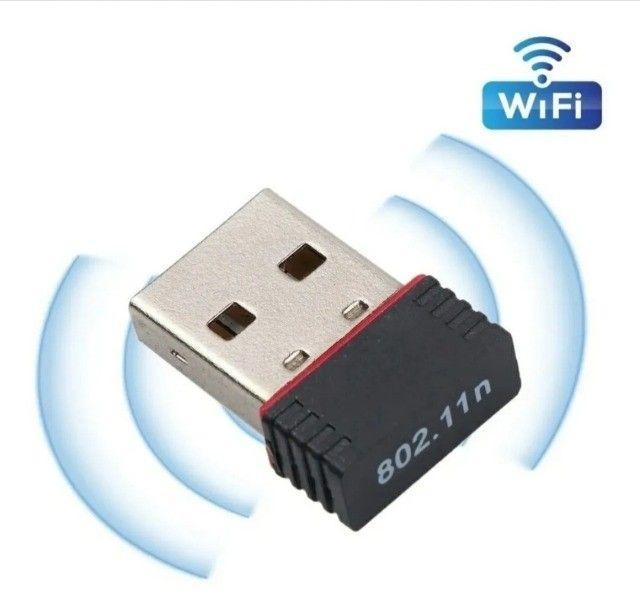 Mini Adaptador Wireless Usb 2.4ghz Wifi 950mbps Nano Sem Fio - Foto 4