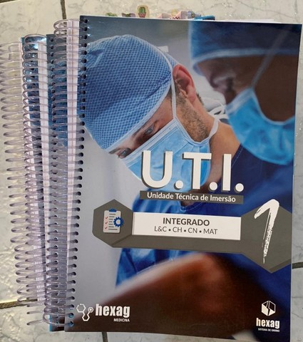 Livros e apostilas cursinho Hexag medicina 2020 - Foto 5