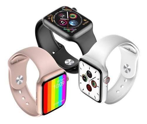 Relógio digital Smartwatch w26 IWO 12 lite 40 mm relógio que faz chamadas telefônicas - Foto 5