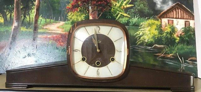 Relógio de mesa antigo Silco