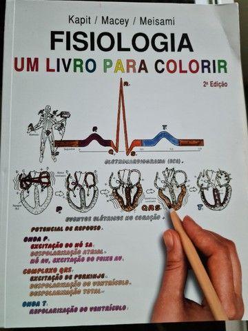 Fisiologia um livro para colorir