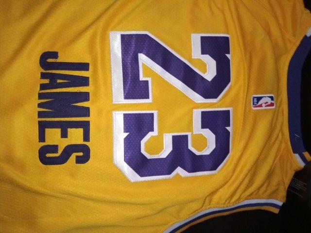 Camisa Lakers - Foto 5