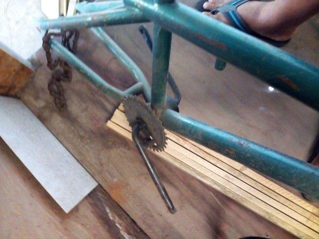 Vendo essa bik de manobra BMX está funcionando tudo  - Foto 4