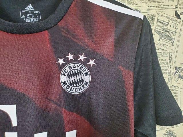 Camisa Bayern de Munique Uniforme III Temporada 2020 2021 - Foto 4