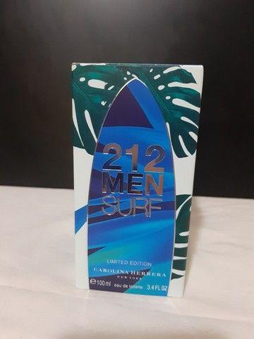 Perfume 212 MEN SURF Limited Edition 100ml Novo Lacrado
