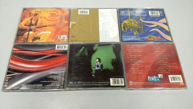 Lote 6 cds originais pop rock nacional internacional - Foto 2