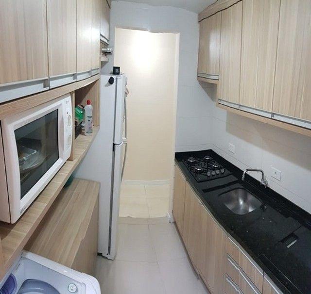 Apartamento com 3 quartos semi mobiliado_no_Fazendinha  - Foto 5