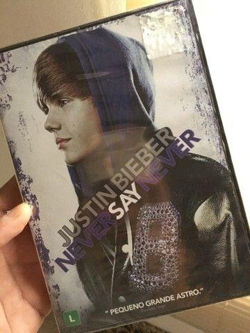 DVD  justin  Bieber lacrado