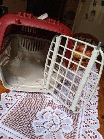 Caixa de transporte cão e gato - Foto 5