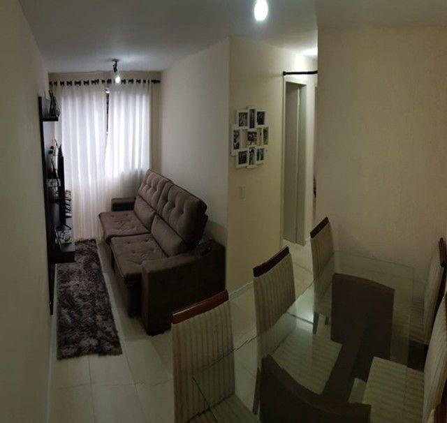 Apartamento com 3 quartos semi mobiliado_no_Fazendinha  - Foto 3