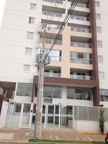 Apartamento 3/4, 01 st, 2grs, 77m², Fell Home, Setor Oeste, nunca habitado