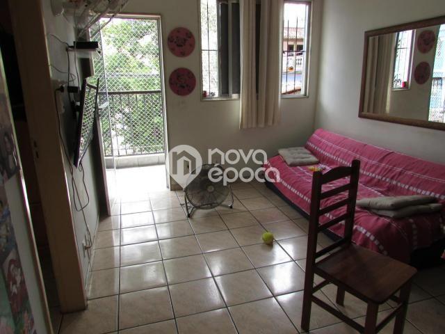 Apartamento à venda com 1 dormitórios em Piedade, Rio de janeiro cod:ME1AP10806 - Foto 2
