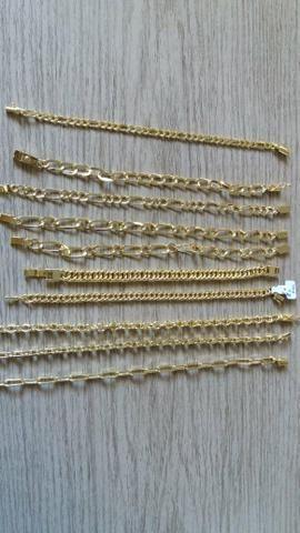 Bracelete,aneis, corrente, pulseira ,pingente personalizado - Foto 5