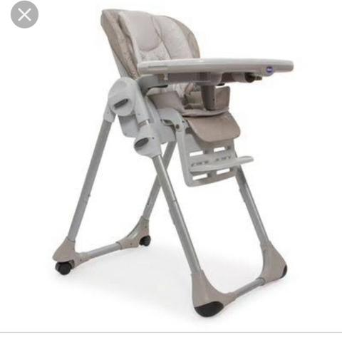 Cadeira alimentação Chicco Polly 2 em 1