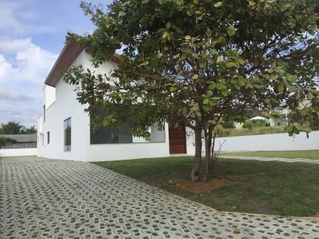 Casa nova. Condomínio Busca Vida. (Cod:EV-31) 4 suítes amplas, - Foto 8