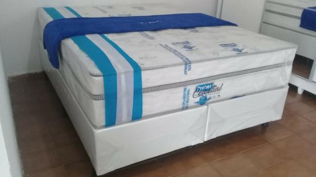 Cama queen probel na black friday do ricardo/ de 1999 por 1299 a vista - Foto 2