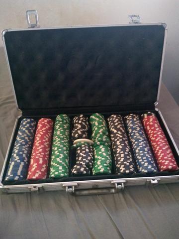 Maleta de poker com fichas - Foto 4