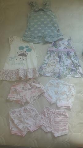Lote de roupa de menina - Foto 2