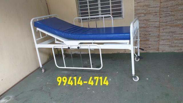 Cama Hospitalar 02 Manivelas 04 Movimentos Venda * - Foto 3