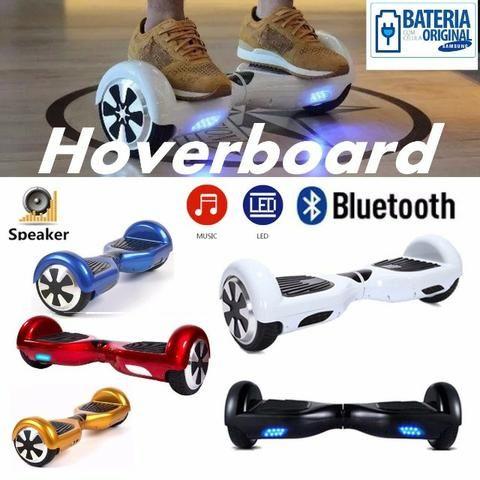 Skate elétrico com bluetooth várias cores