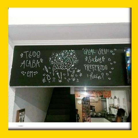 Lettering em Paredes - Foto 2