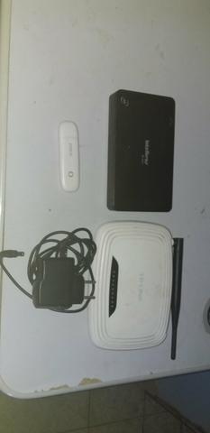 Estou 2 roteadores e um modem - Foto 2