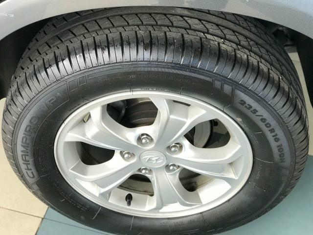 Tucson flex 2016 aut completo único dono pneus novos super conservado pneus novos - Foto 14