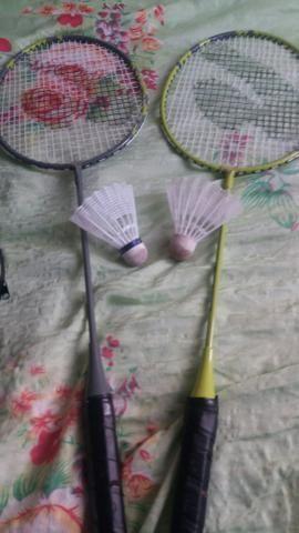 Jogo de raquete com duas peteca só para venda