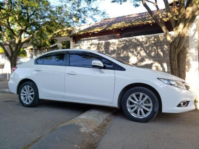 Honda Cívic EXR 2013/2014 Automático impecável - não é de leilão - Foto 2
