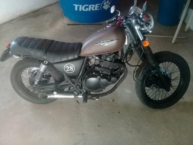 Vende-se Intruder 250cc estilo caferace 7.500 - Foto 3