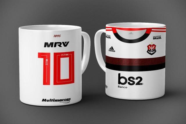 Canecas do Flamengo a pronta entrega de promoção