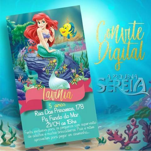 Digital convite virtual para enviar pelo whatsapp - Foto 2