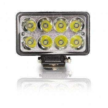 Farol em LED Retangular 8 leds alta e baixa