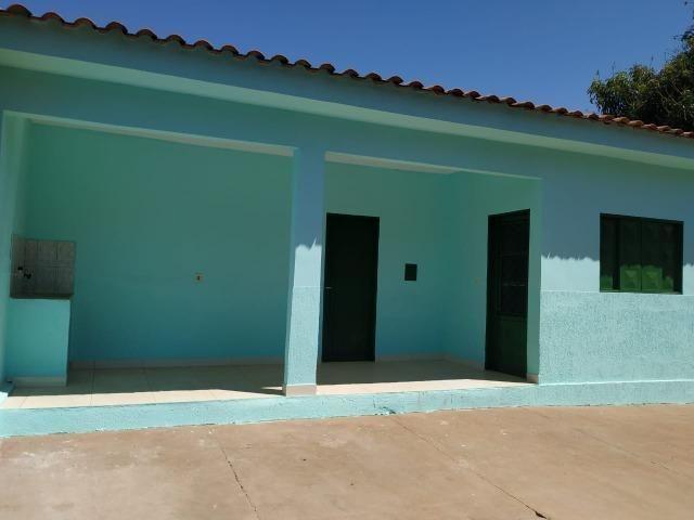 Casa 2 Qts na Laje terreno com escritura, Colonia Agrícola Samambaia,Entrada do Sam's Club - Foto 3