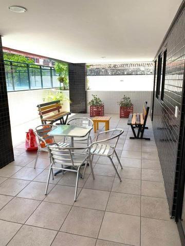 Apto. 105 m2, 3Qts, Dce, 2Vgs, Completo de Móveis, na Jatiúca - Foto 19