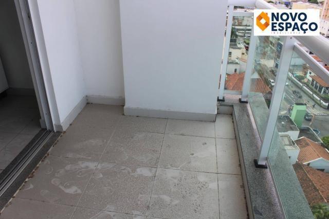 Apartamento com 2 dormitórios para alugar, 70 m² por R$ 1.000/mês - Centro - Campos dos Go - Foto 8